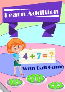 Addition Activity Math Worksheet for kindergarten (upto 10)
