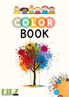 Color Book, for kindergarteners and grade 1