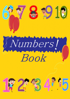 Number Tracing Worksheet from 1-10 (in numeric and words both)