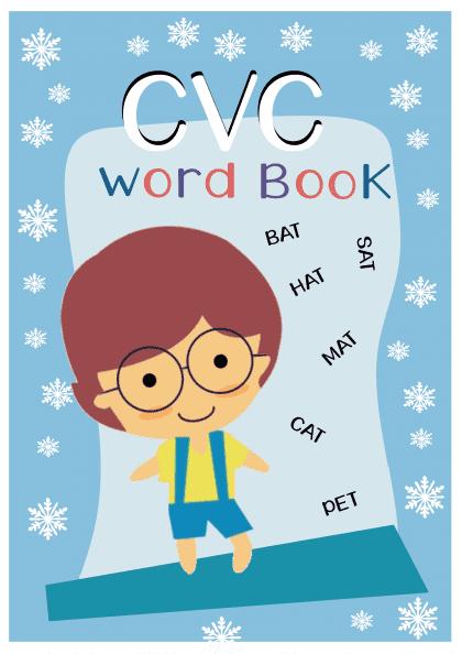 Amazing CVC Word book