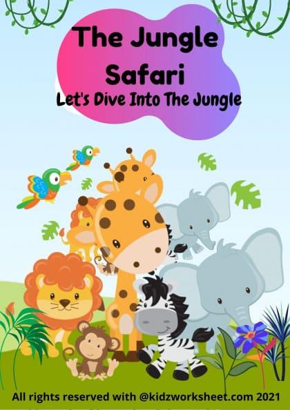 The Jungle Safari | Wild Animals Worksheet