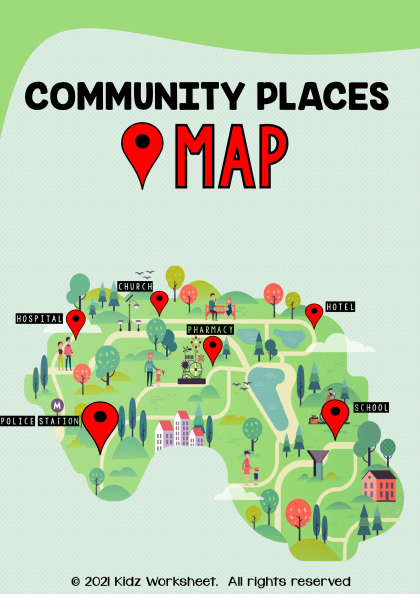 Community places and Maps