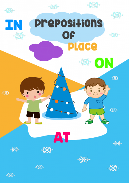 Preposition of Place - (In/On/At)
