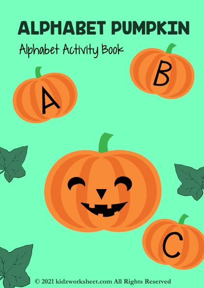 Alphabet Pumpkin - Alphabet Activity Book
