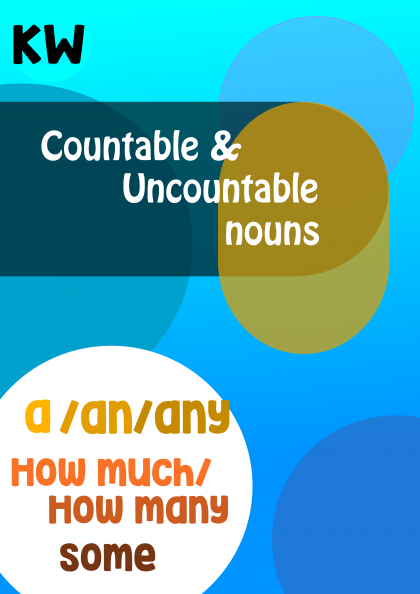 Countable And Uncountable Nouns worksheet | presentation