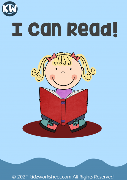 I Can Read activity worksheet | online study