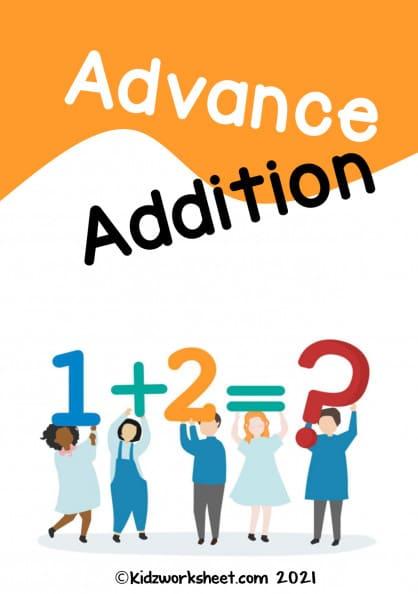 Advanced mathematics series 1 (addition)